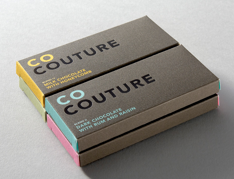 Co Couture Chocolate Packaging
